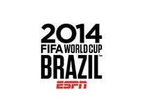 ESPN FIFA World Cup Brazil 2014. Logo Design