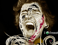 Ilustração Sony Ericsson