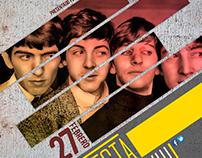 Beatles Perú Afiche
