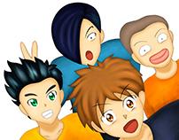 Itoguchi y sus amigos