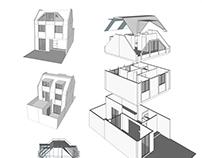 Proyecto Reforma Vivienda - Modelo 3D con despieze