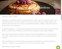 Artículo para sitio web