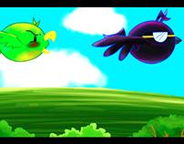 Animación Angry Zanate