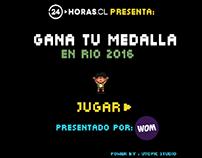 Gana tu Medalla en Rio 2016