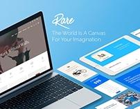 Rare Responsive WordPress Theme by Visualmodo
