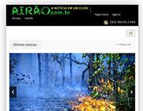 Site da Agência de Notícias Novo Airão - Amazonas
