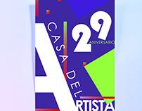 29 Aniversario Casa del Artista.