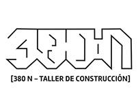 380 N / Diseño de logotipo e iconos, 2017