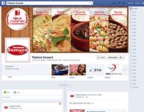 Capa e Posts de Facebook para Restaurante
