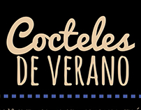 """cocteles de verano"" infografia"