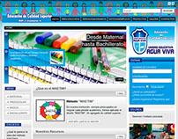 Portal Web U.E. Agua Viva