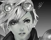 Digital painting VI League of Legends