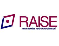 Logo RAISE (Escola de Inglês)