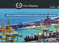 AsiaShipping Website