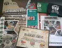 ADRA Ecuador Artes Redes Sociales & Impresos