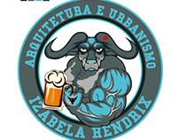 Logo Arquitetura e Urbanismo Izabela Hendrix