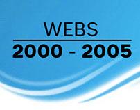 Webs realizadas desde el año 2000 hasta el 2005