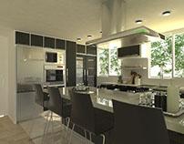 Diseño 3D con Sketchup de baños, cocinas e interiorismo