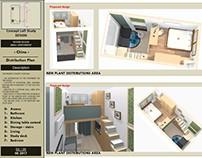 Design Concept Study loft / China / 2017
