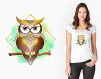 T-shirt - illustrations