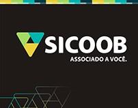 Id visual e organização de eventos (Sicoob)