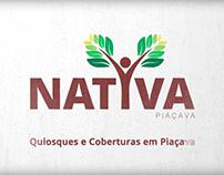Criação de identidade e apresentação Nativa Piaçava