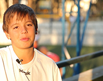Mini doc Kids VIP Team: Matheus, 12 y/o, soccer player