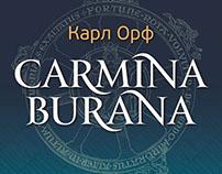 """banner DESIGN """"Carmina Burana"""""""