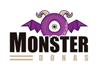 Logo Monster Donas