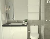 Interiores | Projeto Banheiro Daniel Rebello
