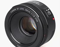 As novidades da Canon 50mm f/1.8