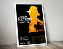 Robert Redford Festival Poster