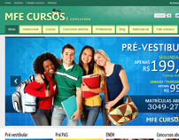 Site MFE Cursos e concursos