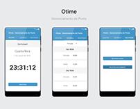 Otime Gerenciamento de Ponto - App Material Design