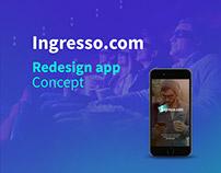 Ingresso.com - Redesign App