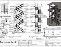 Escalera de Anexo               (imágenes de muestras)