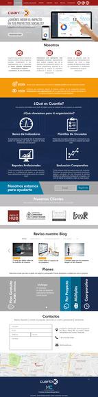 Diseño de web moderno con su responsive