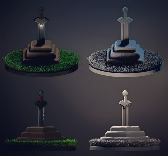 Modelado 3D Low Poly