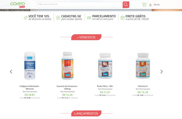 Loja Virtual - Tray Commerce