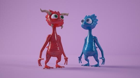 Personajes & Criaturas 3D