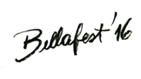 Logotipo tipográfico, realizado a mano.