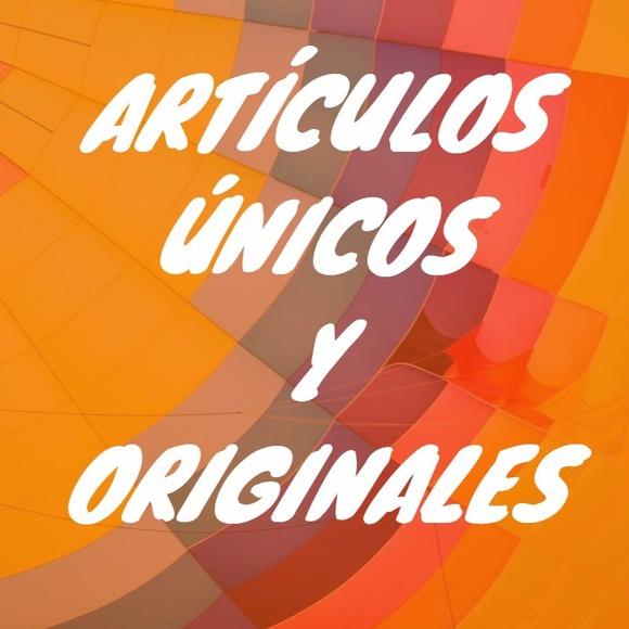 Artículos únicos y originales en Español