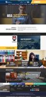 Administrative Landing Page + Blog