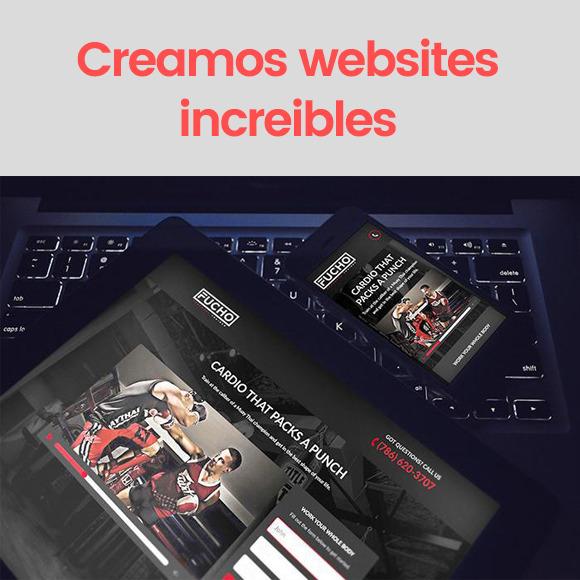 Realizamos los mejores Websites