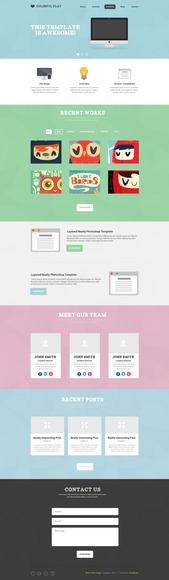 Site One-Page em WordPress