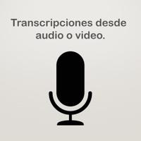 Transcripción de audio o video.