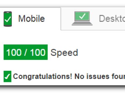Optimizo la velocidad de tu sitio a +80/100