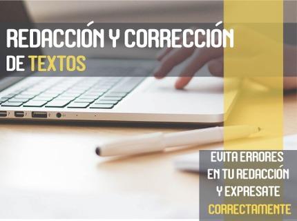 Redacción y corrección