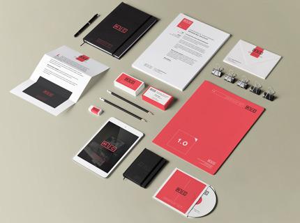 Criação de logotipo + papelaria + mídia social