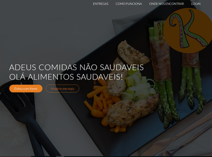 Paginas de apresentação de produtos ou vendas.